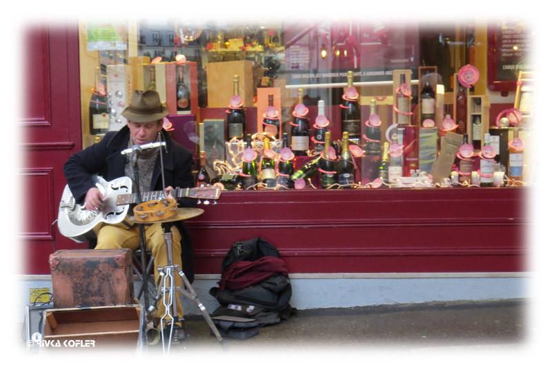 נגן רחוב  - פריז