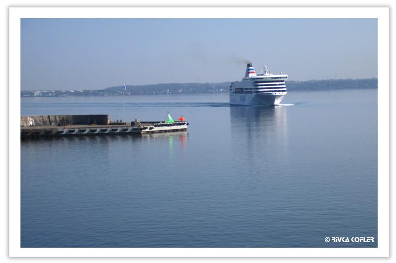מעבורת בים הבלטי