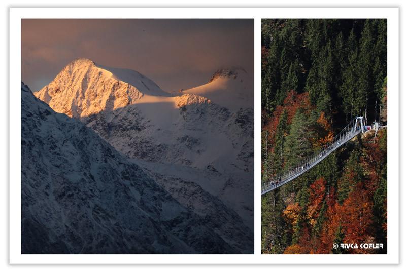 גשר תלוי, עצים בשלכת, קרחון שטובאי