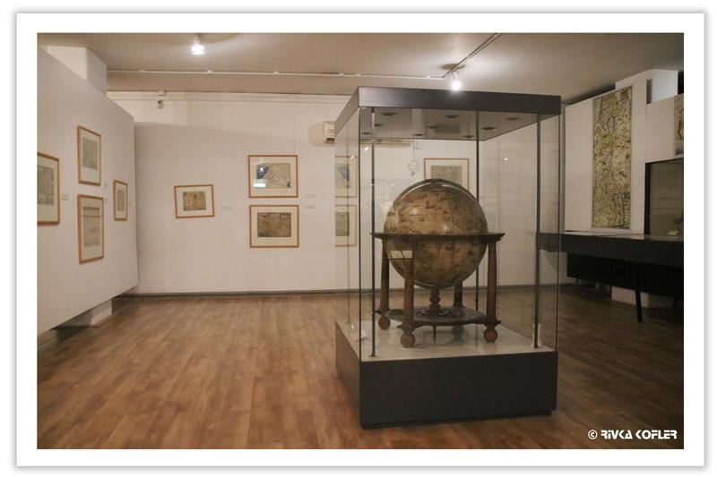 אחד מחדרי התצוגה במוזיאון