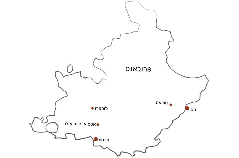 מפת פרובאנס