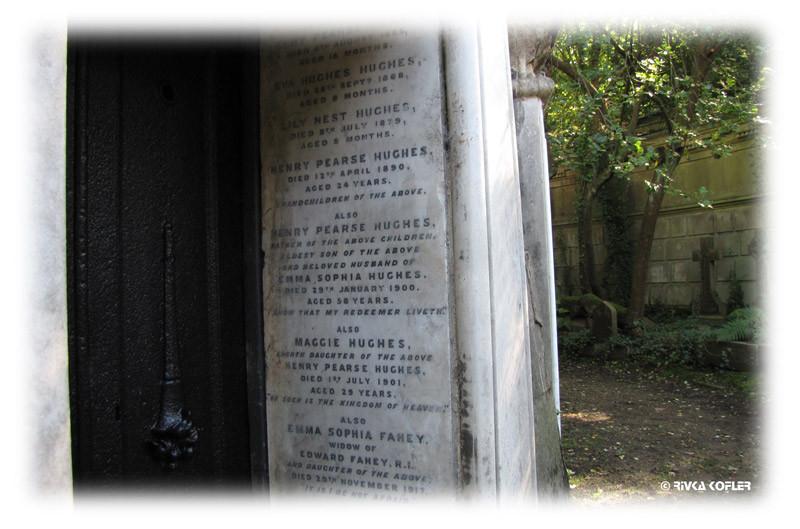 בית הקברות הייגייט, לונדון