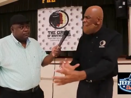 Post Press Conference Interview with Executive Director Brother Lyle Muhammad on the Jeff Fox Show