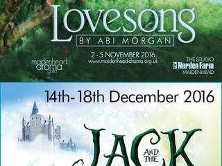 Autumn/Christmas Season Box Office now open!