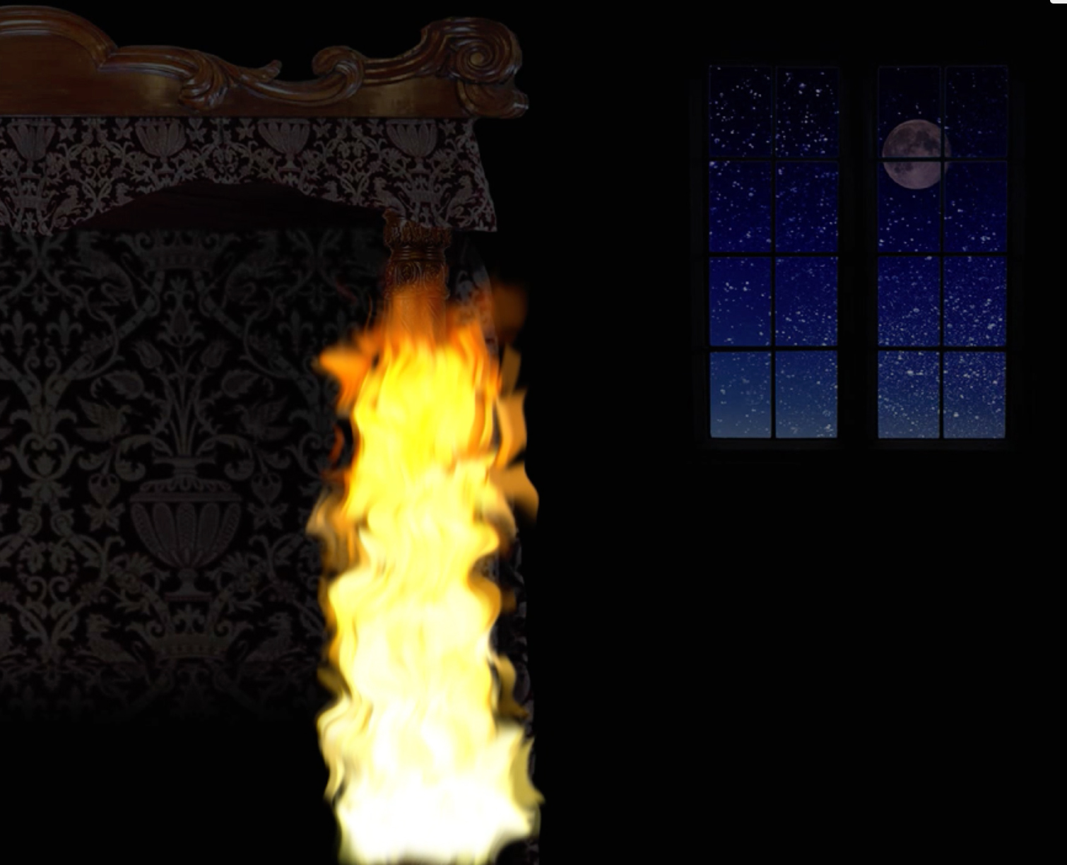 BurningBedpost