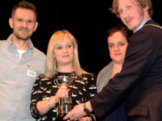 Drama Festival Cup Winners!  Antigone Now