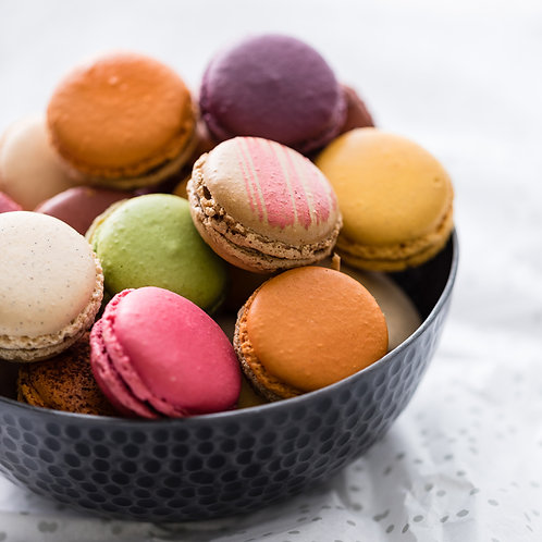 Coffrets macarons (Déjà assortis)