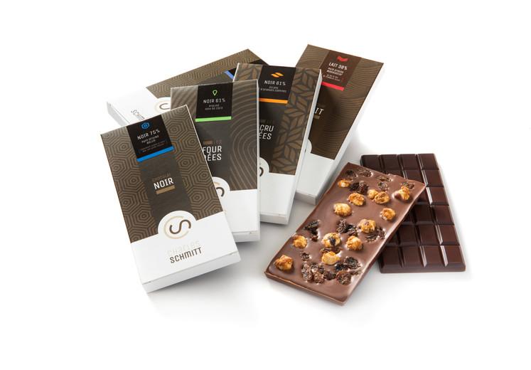 Tablettes de chocolar