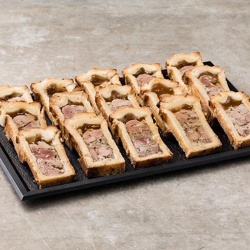 Minis pâtés en croûte / 6 ou 12 pièces
