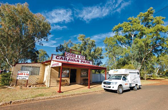 Cobb & Co Caravan Park
