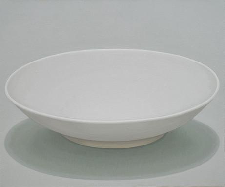 Vessel-white dish