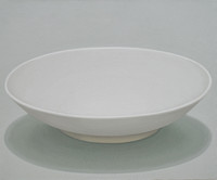 Vessel-white dish