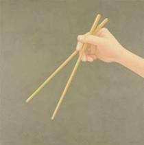 Hand (with chopsticks)