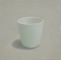 Vessel-blue cup