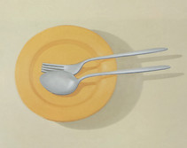 Dish (with spoon & fork)