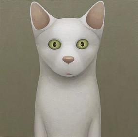 Cat - limegreen