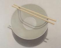 Vessel (with chopsticks)