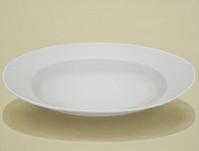 Vessel-white dish (with pale orange)