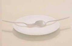 Dish (within forking & spoon)