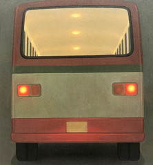 Bus (red)