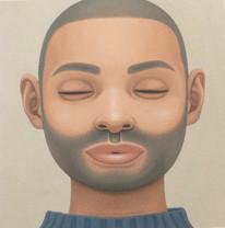 Portrait - beard (blue sweater)
