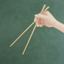 Hand (with chopstiks)