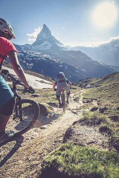 You want more technical riding skills? Our guides will be happy to show you how.