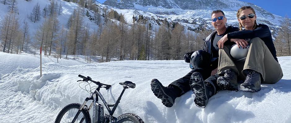 Guided Snow E-Bike Tour