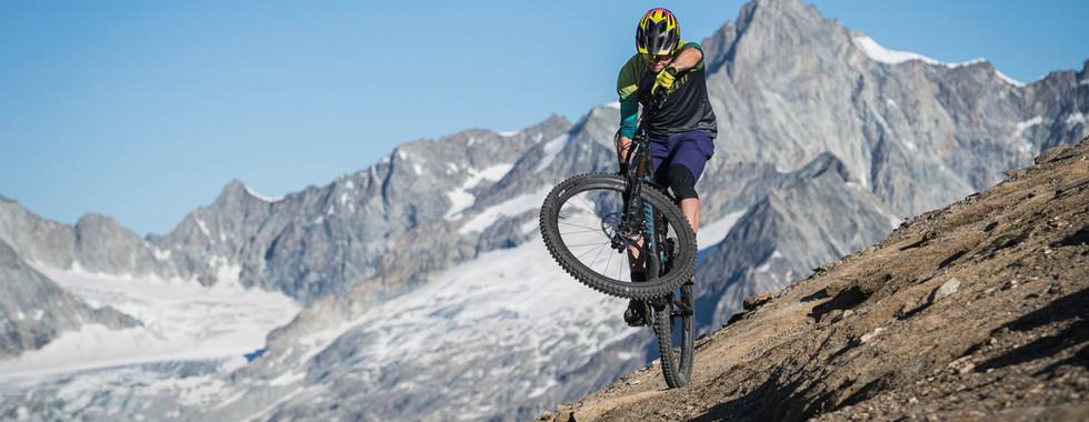 High above Zermatt