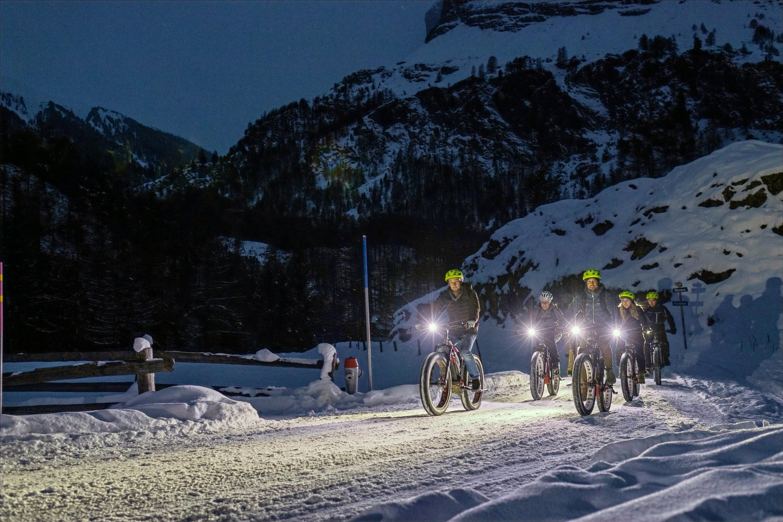 E-Bike Cheese-Fondue Night Ride