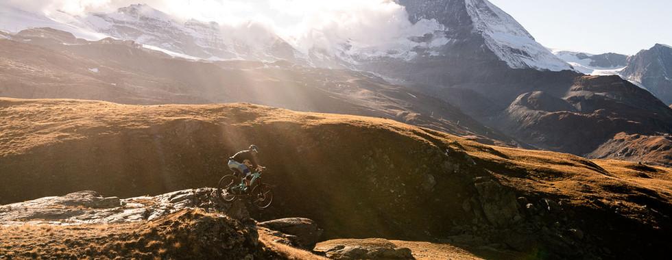 Sunset Ride from Gornergrat