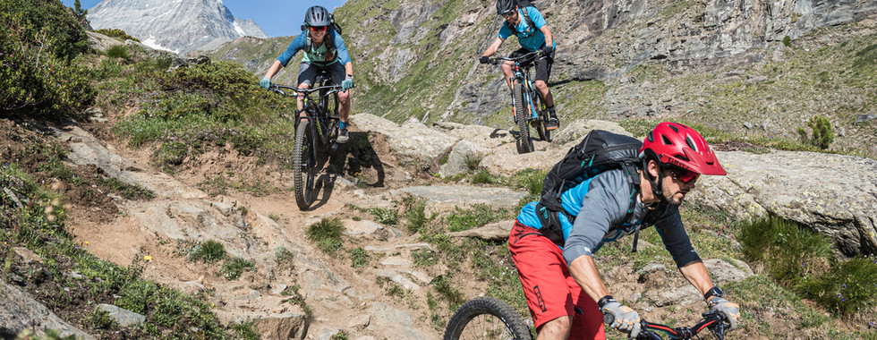 Enduro Trails around Trockener Steg