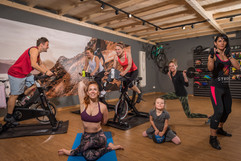Group Fitness in summer and winter
