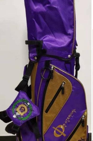 Omega Psi Phi Crossover Bag