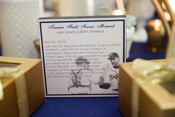 Baseball Theme Table Markers