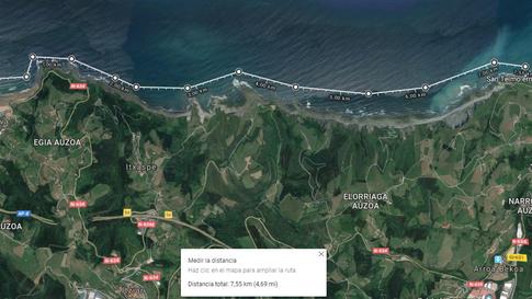 3. Deba-Itzurun 7.55km