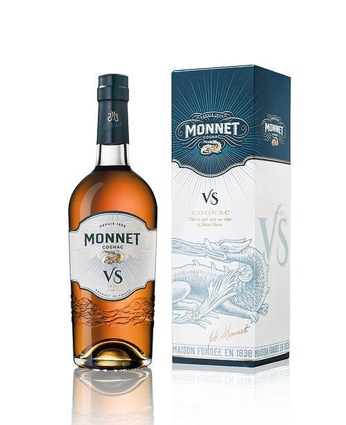 Cognac MONNET VS et Pack