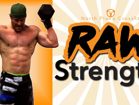The new NPCF Raw Strength Class
