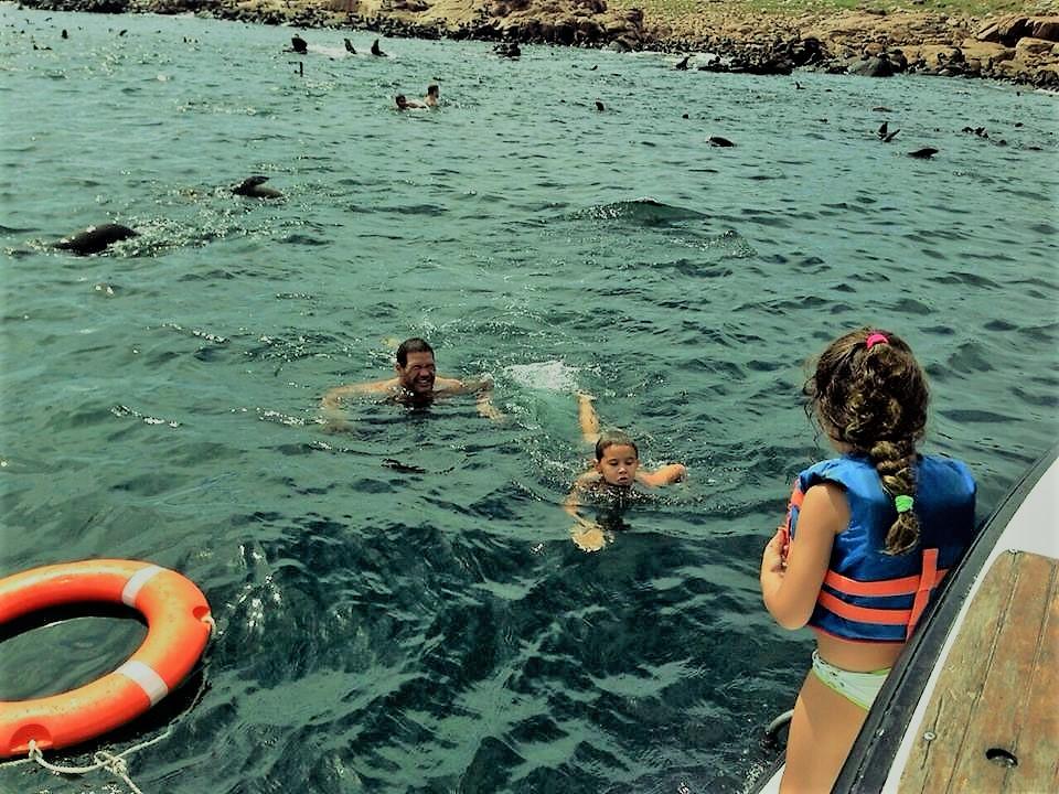 Baño Isla de Lobos