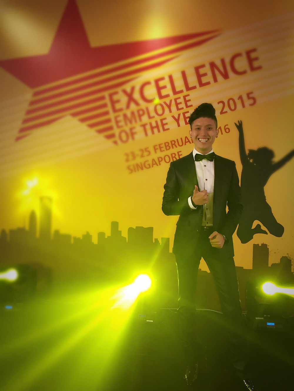 Emcee Singapore - Ainsley Chong, DHL Employee of the Year 2015