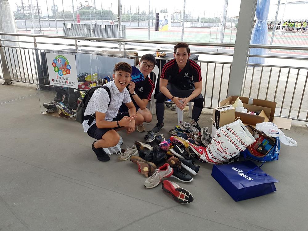 Emcee Singapore - Ainsley Chong, Singapore Community Games 2018 - ASICS Community Ultra Ekiden Run