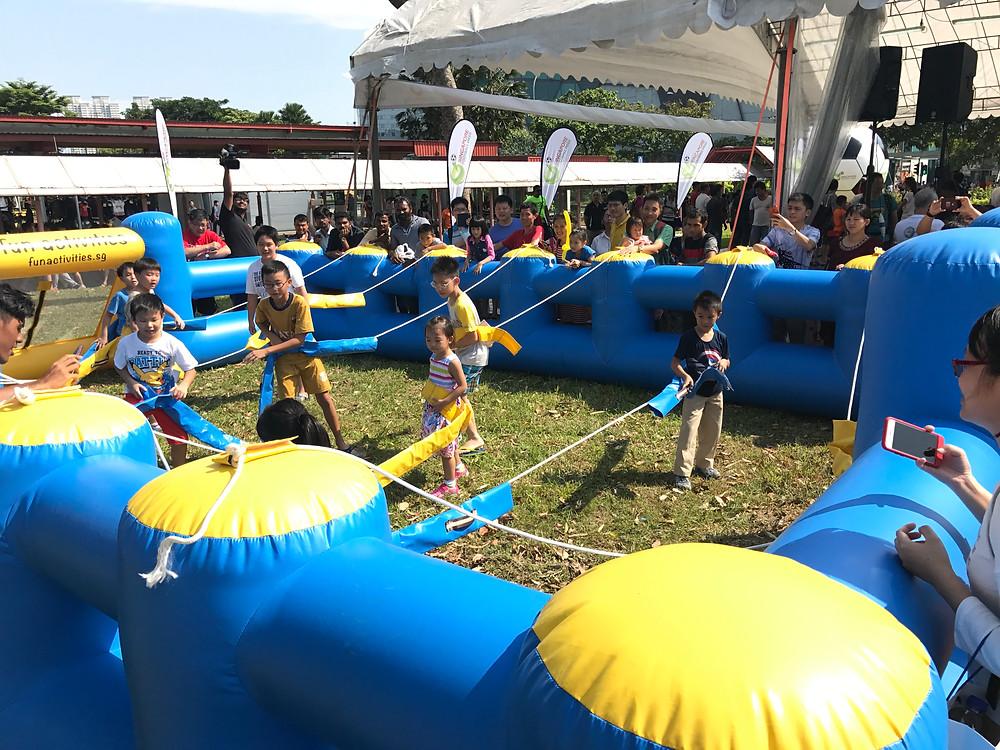 Emcee Singapore - Ainsley Chong, Orientivity Football Fiesta