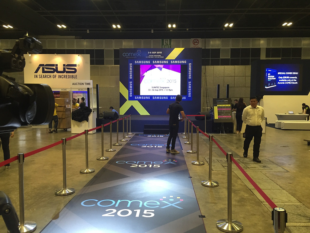 Emcee Singapore - Ainsley Chong, Comex 2015
