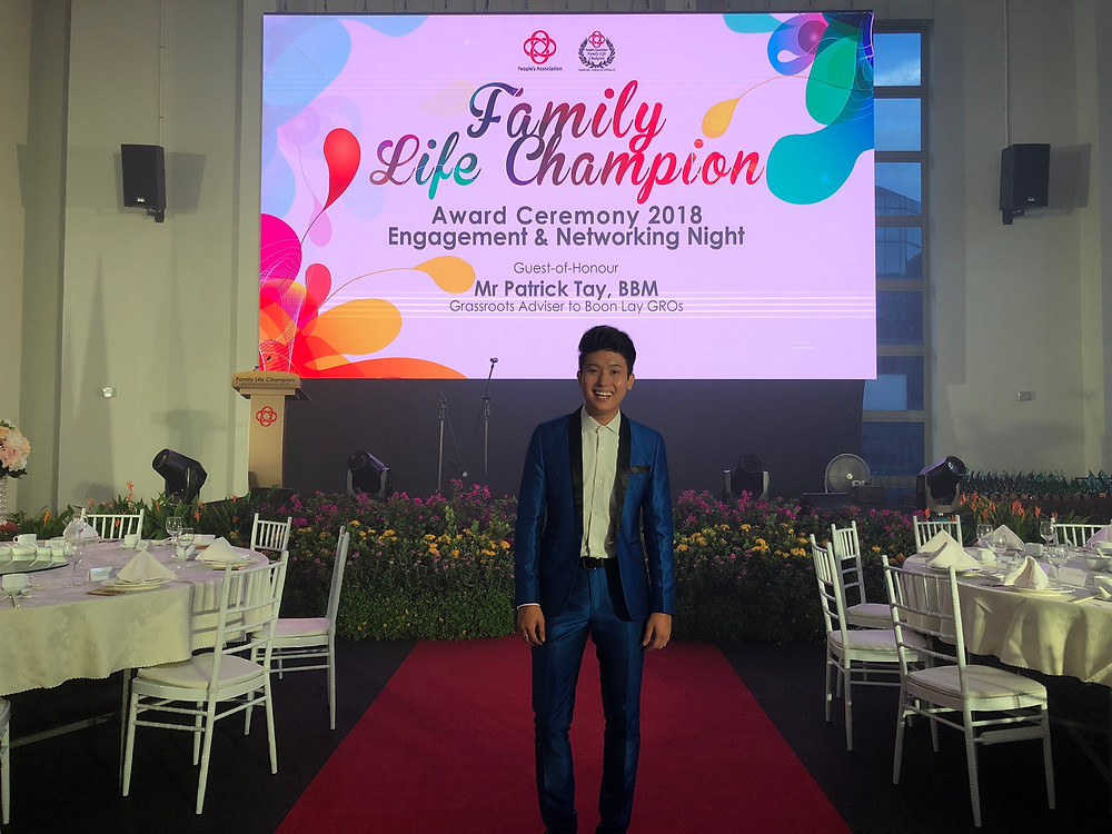 Emcee Singapore - Ainsley Chong, Family Life Champion Award Ceremony 2018