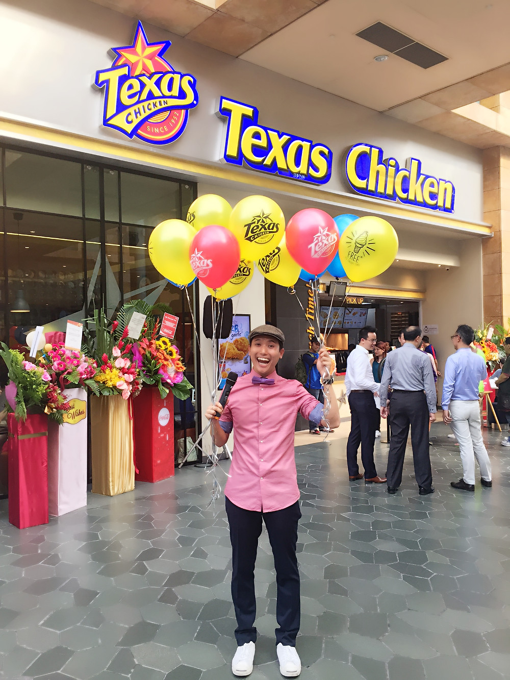 Emcee Singapore - Ainsley Chong, Opening of Texas Chicken's 500th International Restaurant 4