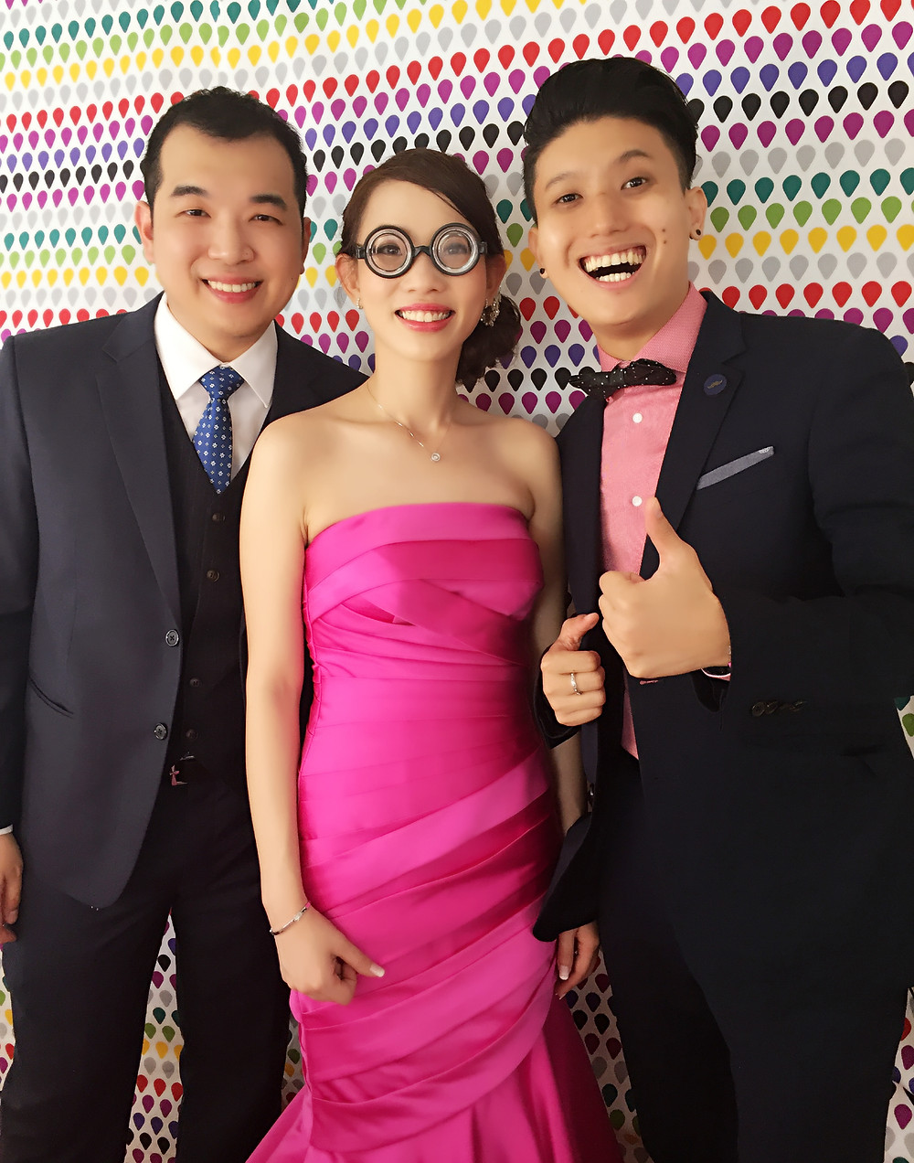 Emcee Singapore - Ainsley Chong, Wedding Lunch of Kian Giap and Beverly Cham