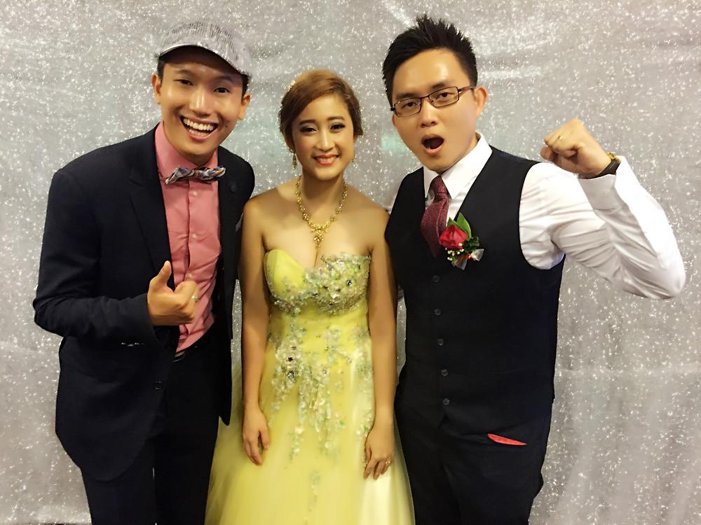 Emcee Singapore - Ainsley Chong, Wedding Dinner of Tan Chun Xu and Nikko Bigornia