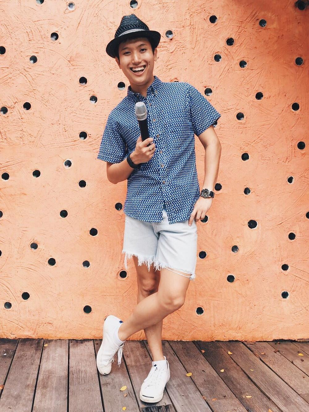 Emcee Singapore - Ainsley Chong, Guardian Heartbeat Celebratory Bash