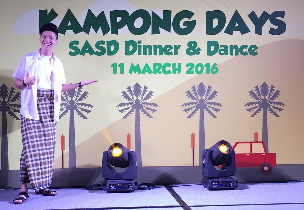Emcee Singapore - Ainsley Chong, Nanyang Technological University (NTU) SASD Dinner & Dance
