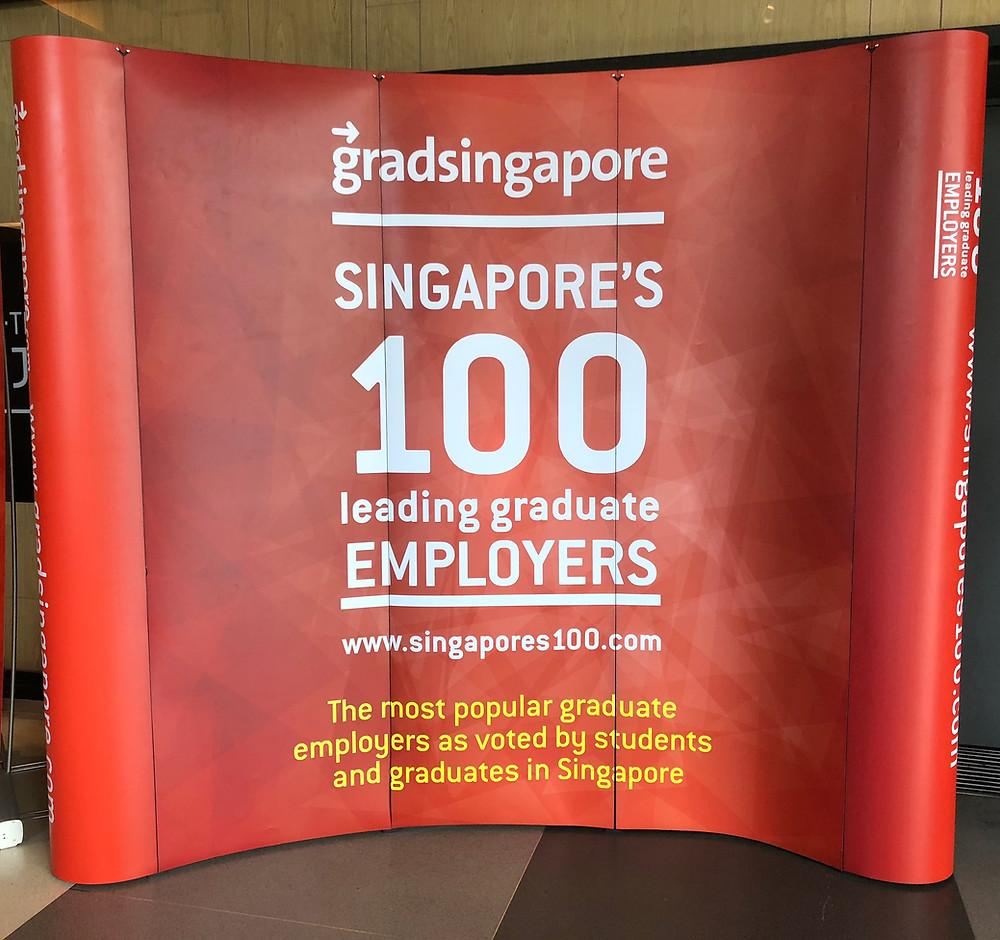 Emcee Singapore - Ainsley Chong, Singapore's 100 Leading Employer Awards 2018